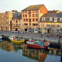 the barbican harbour in plymouth